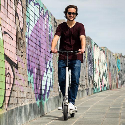 Kom een scooter testen